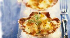 Coquilles Saint-Jacques - recette Noel - Gourmand