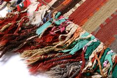 Turkish Striped Adiyaman Square Kilim with by EmilysHouseLondon
