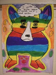 WHAT'S HAPPENING IN THE ART ROOM??: 3rd Grade Blue Dog