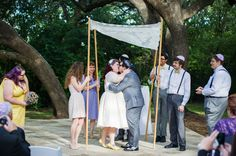 First Kisses | Vintage 50s Inspired Jewish Wedding