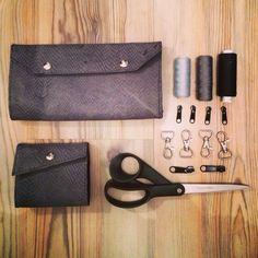 Leather Xmas gift set