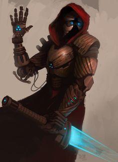 Cyborg warrior  by *madspartan013