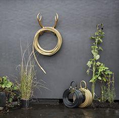 Garden Glory: Reindeer Antler Hoses From Sweden