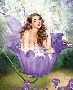 Bathing Fairies by AliaChek