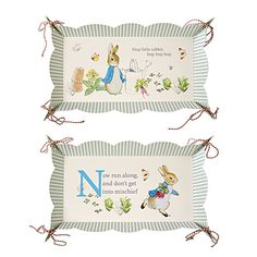 Peter Rabbit Friends and Foods Platters