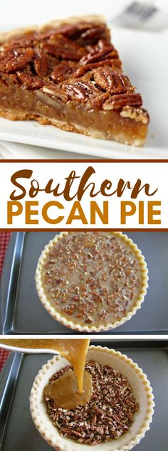 BEST SOUTHERN PECAN PIE There is in no way like Homemade Southern Pecan Pie. This formula has won heating challenges! It goes superbly with my straightforward Wham Bam Pie … Köstliche Desserts, Delicious Desserts, Dessert Recipes, Southern Desserts, Southern Christmas Recipes, Easy Pie Recipes, Pecan Recipes, Southern Pecan Pie Recipe, Best Pecan Pie Recipe