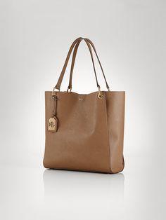Aiden Tote - Lauren Handbags  Handbags - RalphLauren.com
