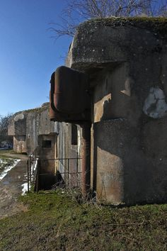 Petite Ouvrage Welschof, Maginot Line, eastern France... ***IMAGE INTENSIVE***