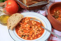 Amateur Cook Professional Eater - Greek recipes cooked again and again: Fasolada - Classic Greek harricot bean soup