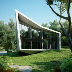 The Edge house is situated in a suburban area near the city of Varna within a virgin forest environment adjacent to the sea. The house is me...