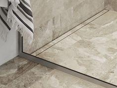 unidrian® HighLine Custom and unidrain® GlassLine shower screen