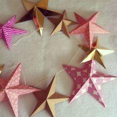 Lovely, simple paper stars