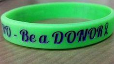 Organ Donor Awareness Wristbands  Be a Donor Save Life