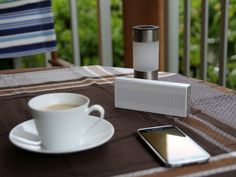 New Wireless Speaker by Xiaomi - The Mobile Tech Giant's new portable wireless speaker plays music via Bluetooth 4.0+EDR with a range of up to 10 meters. | For more pins on Portable Bluetooth and Wireless Speakers, follow Best Buy Portable Speakers (www.pinterest.com/bestbuyspeakers/)
