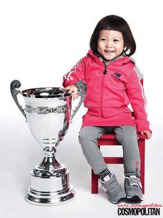 Nation's Baby Choo Sarang & her father for Cosmopolitan Feb 2014 Asian Actors, Korean Actresses, Cute Kids, Cute Babies, Superman Kids, Korean Variety Shows, Asian Babies, Little Star, Cosmopolitan