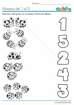 Numeri da 1 a 5