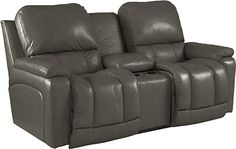 Greyson Power La-Z-Time® Loveseat with Middle Console - Official La-Z-Boy Website