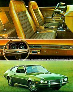 a85f3c04a9a 1972 Pinto 2-Door Sedan Ford Pinto