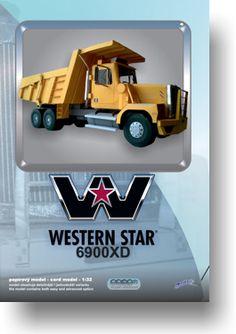 Papírový model - Western Star 6900XD