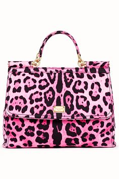 #DolceGabbana , #AnimalPrint , #Pink , #bag