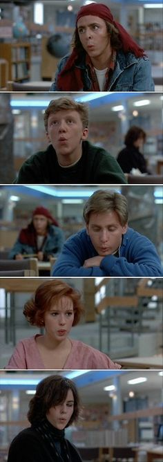 The Breakfast Club.  Love, love, love this movie! - Click image to find more Film, Music & Books Pinterest pins