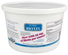 Su-Per Biotin - 2.5 lb (40-80 days) by Gateway. $10.19. Palatable biotin source for hoof growth and repair and general condition of skin and coat. Contains 20 mg of biotin per ounce. Feed 1/2 to 1 oz. daily. Powder.