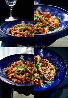 tomato feta pasta salad Pasta Salad For Kids, Salads For Kids, Salads For A Crowd, Best Pasta Salad, Pasta Salad Recipes, Summer Salads, Pork Recipes, Veggie Recipes, Vegetarian Recipes