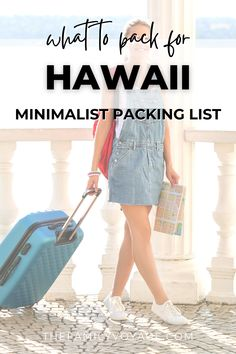 Packing List For Vacation, Packing Lists, Travel Packing, Minimalist Packing, Shave Ice, What To Pack, Capsule Wardrobe, High Fashion, Hawaii