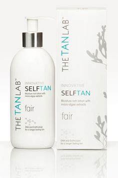 The Tan Lab - Fair Self Tan Perfect for people with fair skin. This tanning lotion will impress you every time!