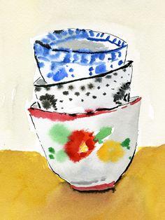 """Bella Foster #04 - """"Cups""""  Archival Inkjet Print $200"""