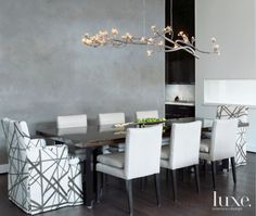 56 Rooms with Shimmering Chandeliers   LuxeDaily - Design Insight from the Editors of Luxe Interiors + Design