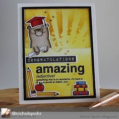 @nicholspohr made this cute card holder card. These #pagehuggers provides good company! #mamaelephant #designerseries #clearstamps #greetingcards #papercrafts