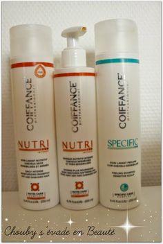 Coiffance Nutri Intense (shampoing et masque)