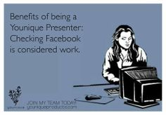 """Join my team and you too can do this """"hard"""" work! :-)https://www.youniqueproducts.com/Plt"""
