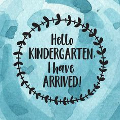 Hello Kindergarten  svg  first day of school  kindergarden