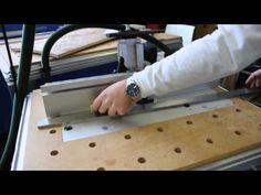 Jointing with the Festool CMS table - YouTube