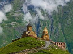 50 Astonishing Photos of Marvelous Places Around the World, That You Must Visit (Part 1), Gergeti Trinity, Georgia
