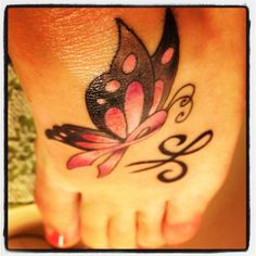 Breast cancer ribbon butterfly & friendship symbol to commemorate The Susan G Komen 3-Day Walk Philly 2012!