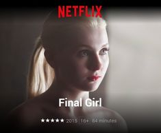 """Got Amazon Prime Video and can't decide what horror movie to watch? Contemporary #terror movie like """"I Spit on Your Grave"""" or """"Last House on The Left"""" I'd recommend """"Final Girl"""" for a contemporary take on the vengeance #amazonprime. Please read my review @ Shock-depot.com"""