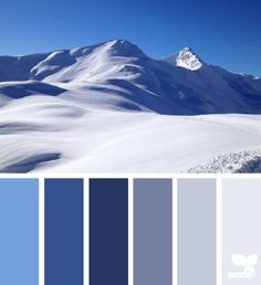 neige ciel marine montagnes