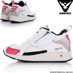 (SBENU) B(NE)-002 PI NEUTH Men Women Sneakers Running Elevator Shoes AOA IU KPOP #SBENUhellobincom #RunningFashionSneakersShoes