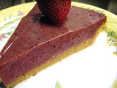 Ginger Lemon Girl: Gluten Free Raw Berry Blueberry Pie & Pudding Recipe