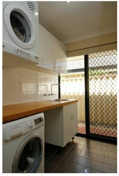 Renovated laundry at our old house