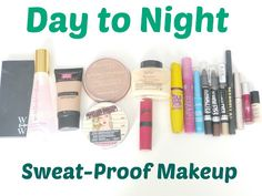Summer Week: Sweat-Proof Makeup Day to Night