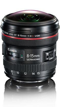 Fisheye Lens - Canon Lenses Information, Pictures & Tips Canon Lens, Camera Lens, Fisheye Lens, Canon Cameras, Camera Photography, Photography Tips, Foto Canon, Fotografia Macro, Camera Equipment