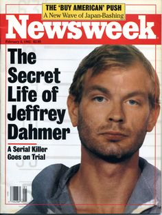 Jeffrey Dahmer was a serial killer who murdered 17 men during in the US. Read about his crimes, capture, trial and murder. Evil People, Crazy People, Jeffrey Dahmer, Natural Born Killers, Major Crimes, Ted Bundy, Public, Criminal Justice System, Criminology