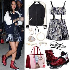 Rihanna arriving at the Barclays Center in New York, April 27th, 2014 - photo: rihanna-diva