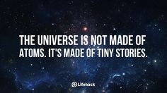 Startling and inspiring facts about the Universe we live in.