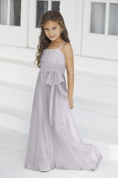 Wedding Dresses, Bridesmaid Dresses, Prom Dresses and Bridal Dresses Alexia Junior Bridesmaid Dresses - Style - Alexia Junior Bridesmaid Dresses, Spring Junior version of style Bella chiffon bridesmaids gown with contrasting band. Little Girl Dresses, Girls Dresses, Flower Girl Dresses, Prom Dresses, Purple Bridesmaid Dresses, Bridal Dresses, Junior Bridesmaids, Chiffon Dresses, Older Flower Girls