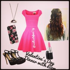 Pink to the beat outfit